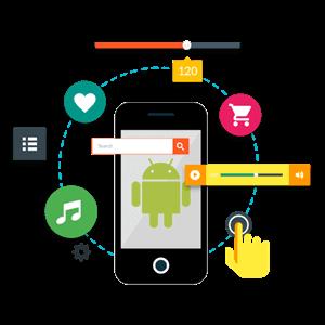 طراحی اپلیکیشن اندروید فروشگاهی در سایت ساز آنلاین آسان وب سایت