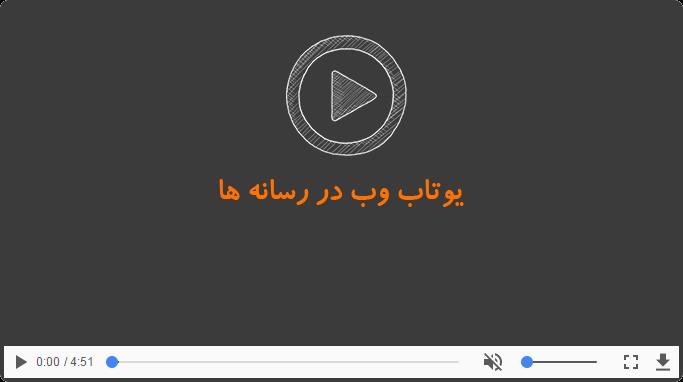 سایت ساز یوتاب در رسانه ها ، سایت ساز یوتاب در شبکه نسیم به عنوان طراحی سایت برتر